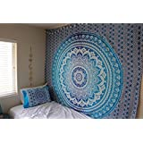 Hippy Throw Mandala Tapestry Indian Wall Hanging, Tapestry, Bohemian, Tapestries, Queen Bedsheet ...