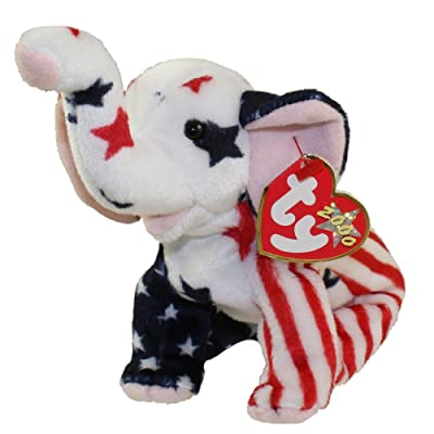 Righty 2000 the Elephant - Ty Beanie Baby by Ty: Toys & Games