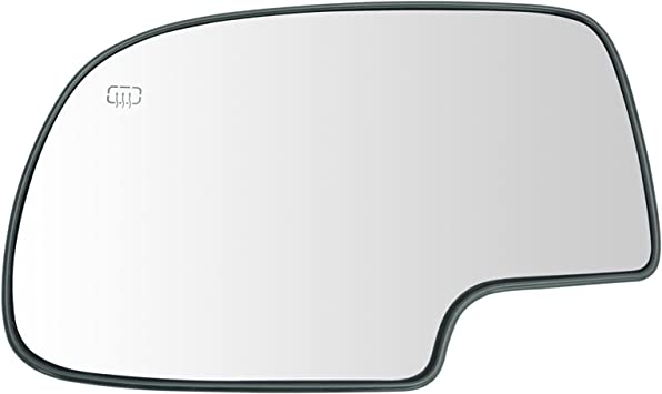 New Door Mirror Glass Replacement Driver Side W//Turn Signal For GMC Yukon 00-06