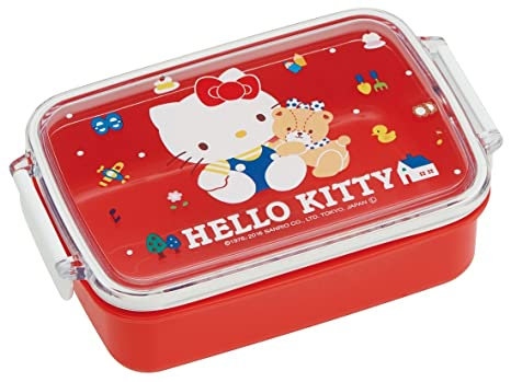 915d7e8953c Amazon.com  Sanrio Hello Kitty Lunch Box 450ml 80 s from Japan ...