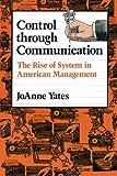 Control Through Communication 9780801846137