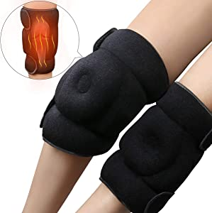 REVIX Heating Pads for Knee Microwavable Heated Wraps for Arthritis Pain Relief, Elbow Brace for Tendonitis for Woman and Man