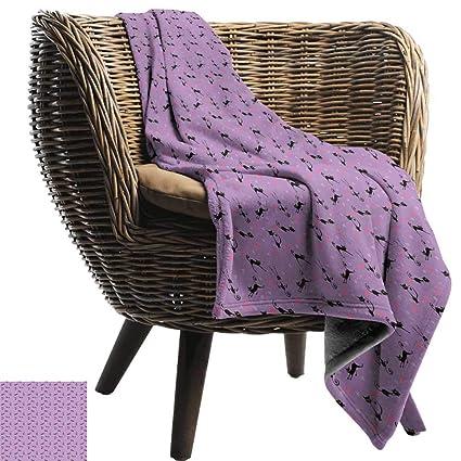 Amazon.com: WinfreyDecor Purple Living Room/Bedroom Warm ...