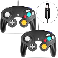 VOYEE Gamecube Controller Black-2 Pack 792585650366
