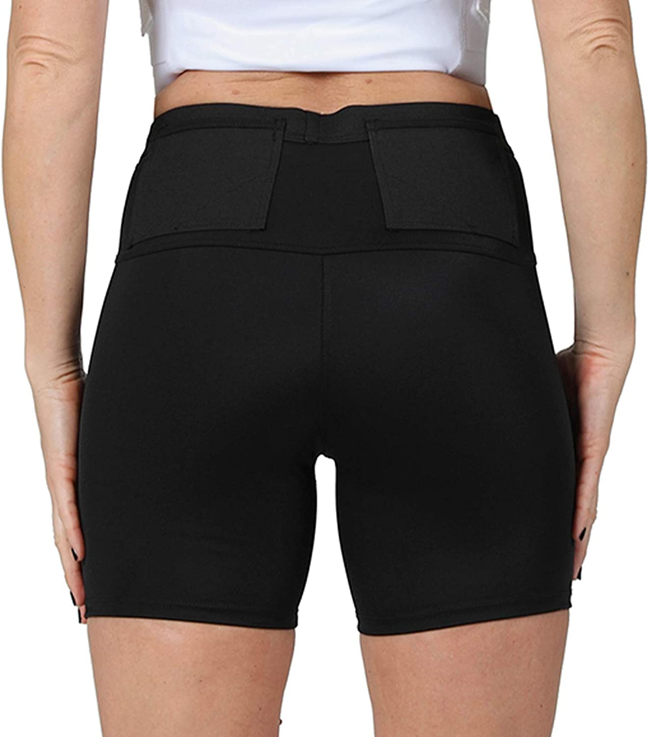 ISPRO TACTICAL Insta Slim Womens Concealment Compression Undershorts w/Holster for Daily Training Home Defense WGS018