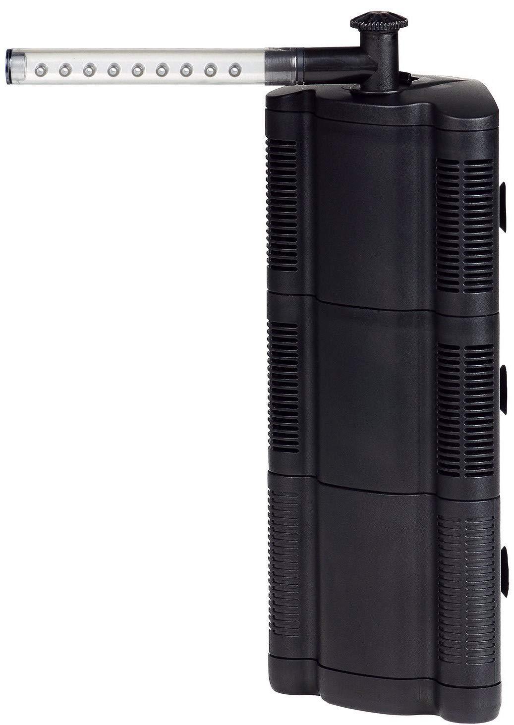 BPS (R) Filtro professionale acquario, filtro per interno acquario, risparmio energetico(4,8 W, 250 l/h) 250 l/h)