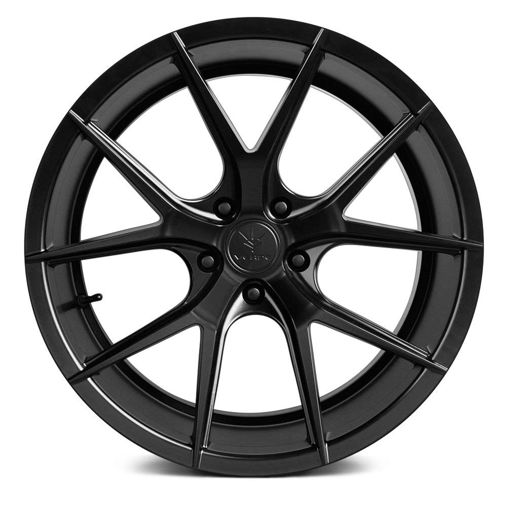20 x 9. inches //5 x 120 mm, 35 mm Offset Verde Custom Wheels Axis Satin Black Wheel with Painted Finish