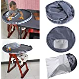 Oyedens Baby Dinner Mat Cover Bumper Pad for Highchair, Waterproof Kid Dinning Placemat
