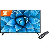 "Smart TV LED 50"" 4K UHD LG 50UN731C, 3 HDMI, 2 USB, Wi-Fi, Assistente Virtual, Bluetooth"