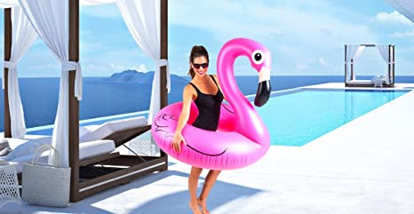 Cute Inflatables Tumbona Flotador Flamenco Hinchable | ¡Gran ...