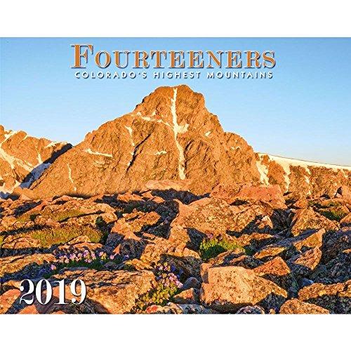 Colorado Fourteeners 2019 Deluxe Wall Calendar