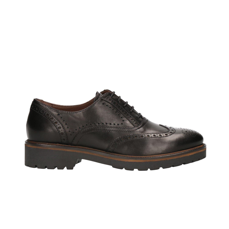 Nero Giardini A806361D - Zapatos de Cordones para Mujer Negro Negro 39 EU