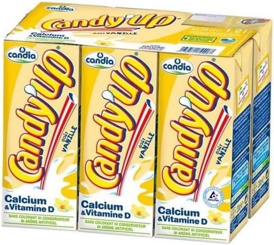 Candia Candyup Vanille 20cl (pack de 6): Amazon.es: Alimentación y bebidas