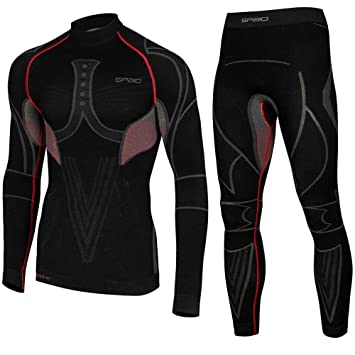 Línea para hombre Spaio Extreme larga ropa interior térmica ropa térmica interior esquí SET, invierno