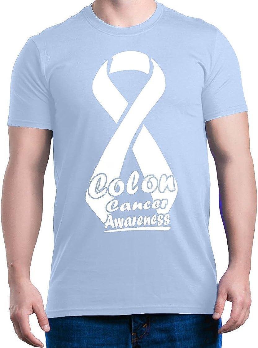 Amazon Com Colon Cancer Awareness T Shirt Ribbon Support Shirts Clothing
