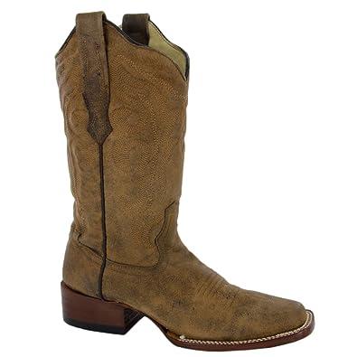 Corral Boots , Bottes Western de Cowboy Femme Marron