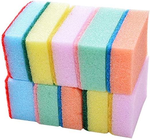 Esponjas de limpieza 10 unids Colorido Nano Limpia Lavaplatos ...