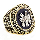 Budazo Mens Golden Championship Rings For 1998 Yankee,US 13