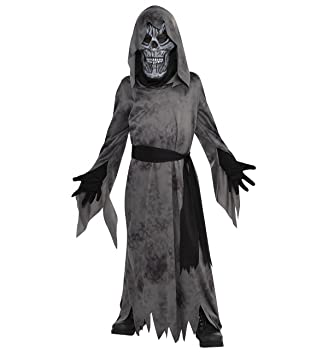 Halloween Costumes For Kids Boys 10 And Up.Dark Ghastly Ghost Ghoul Boys Halloween Fancy Dress Kids Childrens Child Costume Size Medium Uk 8 10 Years