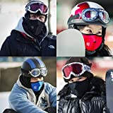 TraAcc Anti Dust Pollution Motorcycle Face Mouth Mask Ski Masks neck worm Winter Cold Weather Half Face Mask for Motorcycles, Bicycle, Skiing, Running,Mountain Climbing