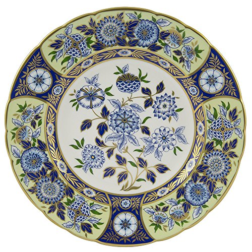 Royal Crown Derby Imari - Royal Crown Derby Imari Accent Midori Meadow Accent Salad/dessert Plate