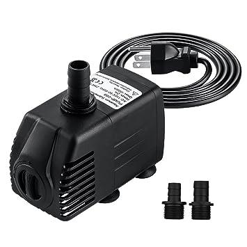 Amazon Com Coctione Submersible Pump 400gph 25w Ultra Quiet