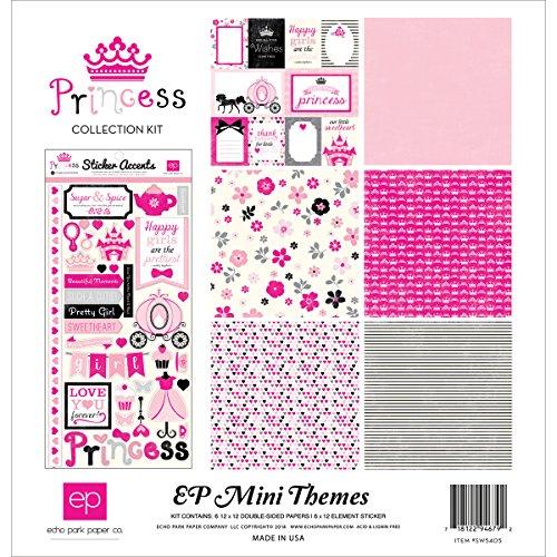 Echo Park Paper Company SW5405 Princess Collection (Princess Scrapbook Kit)