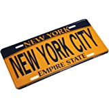 NEW YORK CITY - New York License Plate NY Car Plate NYC Metal Empire Gold Plate NYC Plate Souvenir NY License Plates Decor Decoration