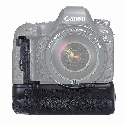 PULUZ - Empuñadura de batería para cámara Canon EOS 6D Mark II ...
