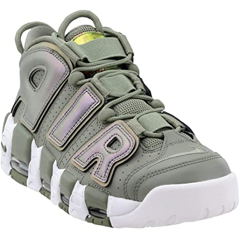 outlet store f3c28 0e386 Nike Scarpe Air Wmns Air More Uptempo in Pelle Verde 917593-001