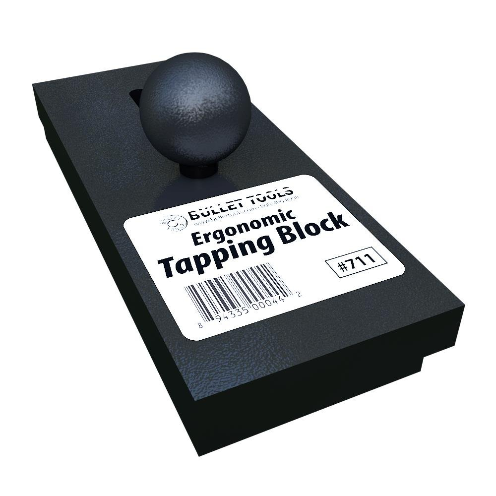 Bullet Tools Ergonomic Professional Grade Plank Flooring Tapping Block