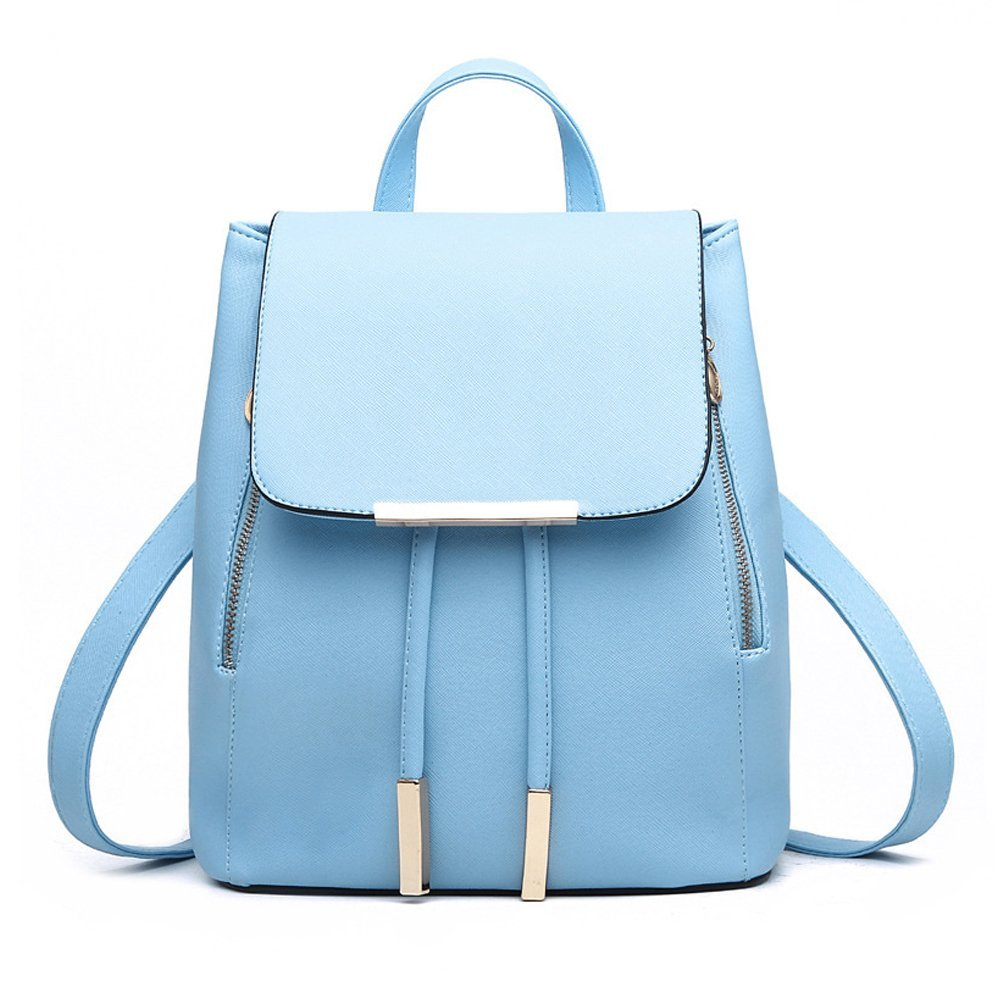 Jonon Women's Modern Design Deluxe Fashion Backpacks (L, LAKE BLUE) by JONON (Image #1)