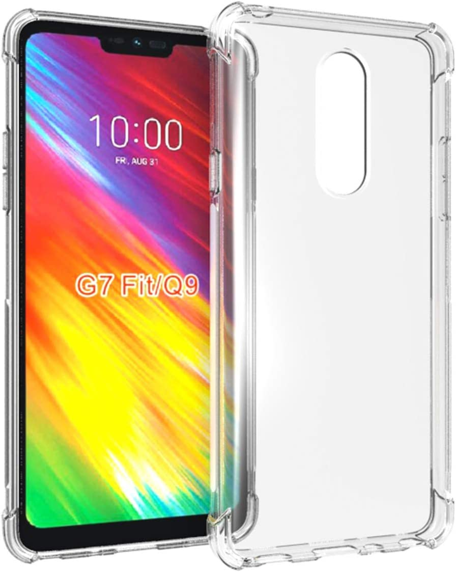 Funda LG G7 Fit(Q9),Vicstar LG G7 Fit(Q9) Case Transparente TPU ...