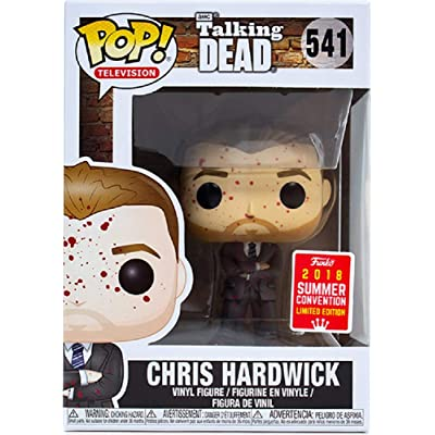 POP Television: Chris Hardwick (Bloody) Summer Convention Exclusive SDCC 2020: Toys & Games