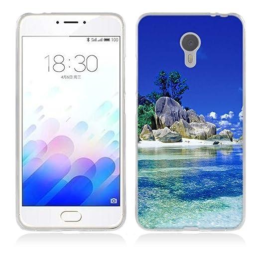 3 opinioni per Meizu Meilan M3 Note / Blue Charm Note 3 Cover, Fubaoda Alta qualità Bello e