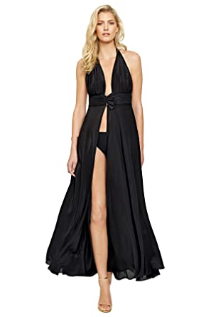 8681b5114a Gottex Women s Grace Kelly Maxi Dress Swim Cover up at Amazon Women s  Clothing store