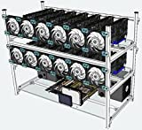 PPCS Stackable Mining Case with 14 Graphics Card slots