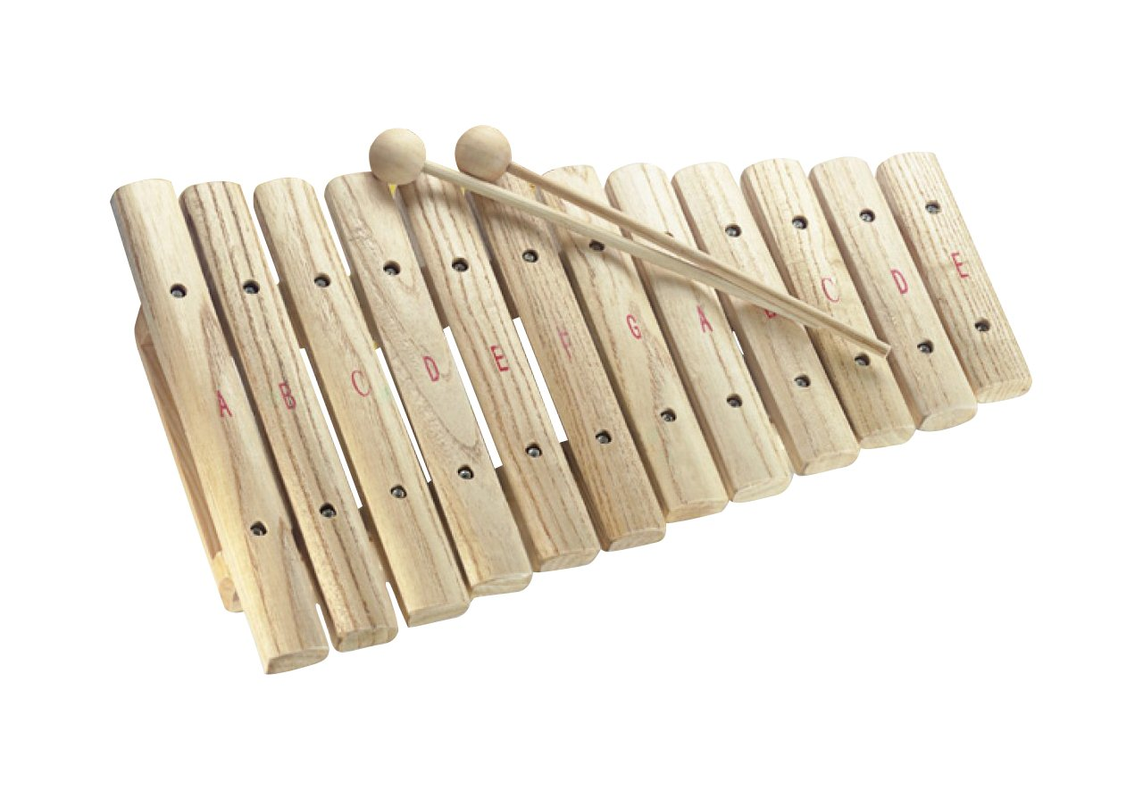 Stagg XYLO-J12 12-Key Xylophone with Mallets by Stagg