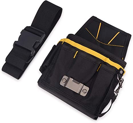 WINJUN Multi Pocket Tool Bag with Adjustable Belt Waterproof Oxford Tool Pouch for Window Tint Electronic Tool Organizer Vinyl Wrap