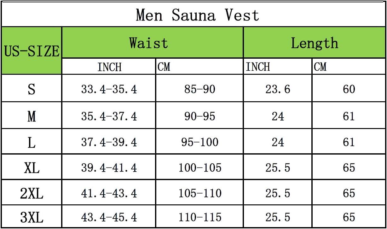 CORATED Faja Reductora Adelgazante Hombre Neopreno Camiseta Reductora Compresi/ón de Sauna Chaleco para Desarrollo Muscular P/érdida de Peso con Quema Grasa Deportivo
