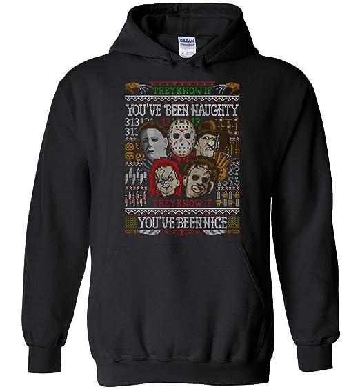 Amazoncom Tshirtamazing Jason And Halloween Horror Team Ugly