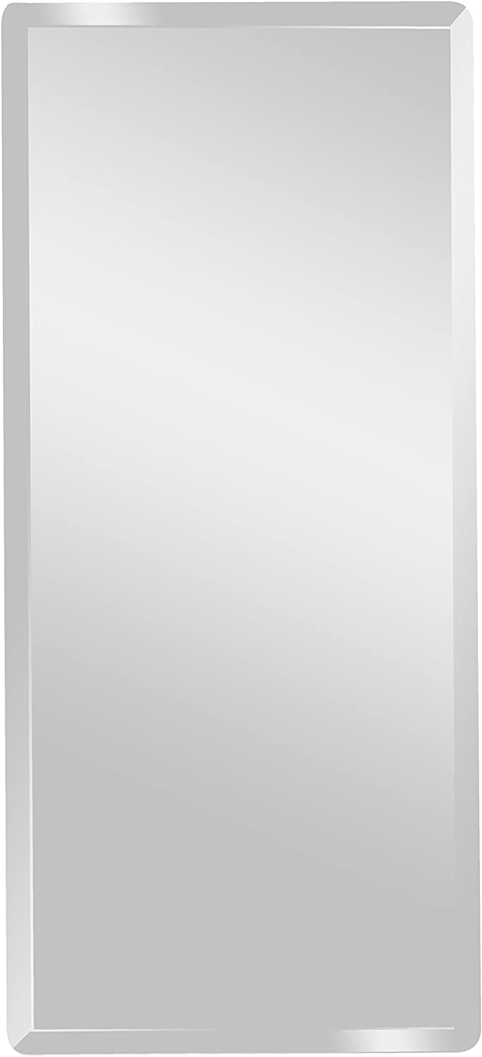 Spancraft Glass 214-2030 Rectangle Beveled Mirror, 20 x 30