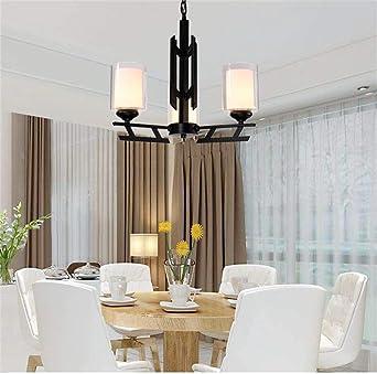 Einfache, Nachträgliche, Bügeleisen Deckenleuchte Kronleuchter Für Wohn   Und Esszimmer Schlafzimmer Penthouse Etage Zu