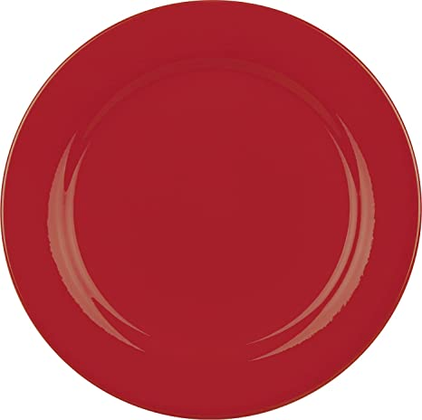 Waechtersbach Fun Factory II Red Salad Plates Set of 4  sc 1 st  Amazon.com : waechtersbach red dinnerware - pezcame.com