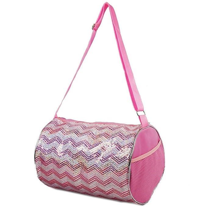 4671ec530e82 Princess Duffle Bag Chevron Sequin Bag