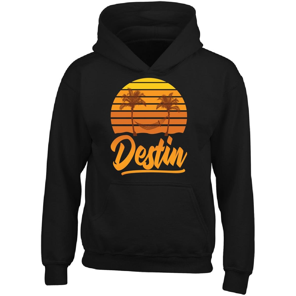 Amazon.com: KewlCover Destin Florida Beach Palm Trees - Adult Hoodie:  Clothing