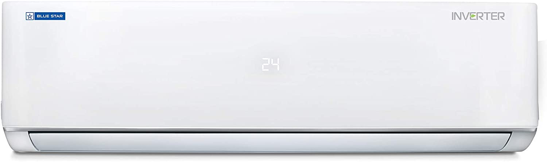 Blue Star 1.0 Ton 3 Star Inverter Split AC (Copper IC312MATU White)