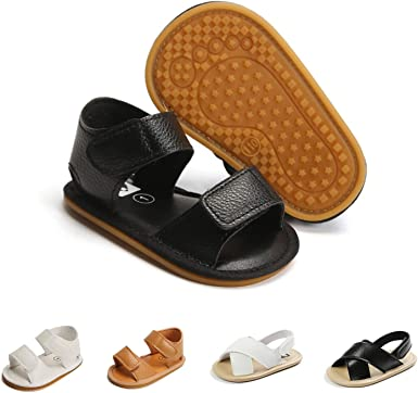 COSANKIM Baby Boys Girls Sandals Anti-Slip Rubber Sole Infant Summer Shoes Toddler First Walkers Crid Shoes