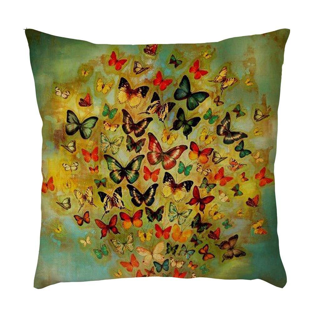 VJGOAL Retro impresión de la Mariposa Suave cómodo Funda de ...