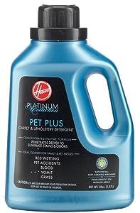 Hoover AH30035 Carpet Cleaner and Upholstery Detergent Solution, Platinum Collection Pet Plus Formula, 50 oz